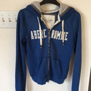 ABERCROMBIE Hooded Shirt Sz Sml